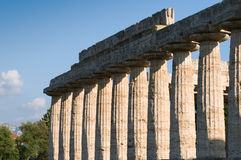 Temples of Paestum Stock Photography