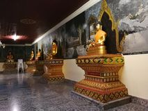 Thailand Temples and pagodas are Beautiful cultural attractions on the mountain in Northern of Thailand. Temples and pagodas are Beautiful cultural attractions Royalty Free Stock Images