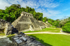 Temples in Palenque Stock Photos