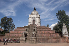Temples in the patan. Royalty Free Stock Photo