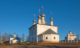 Temples Pokrovsky Monastery Royalty Free Stock Image