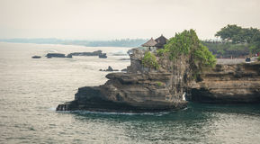 Temples on the rock in Bali, Indonesia Stock Image