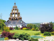 Temples Of Russia. The Churches Of Russia. The beauty of the Volgograd region Royalty Free Stock Image