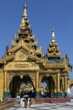 Shwedagon Pagoda complex - Yangon - Myanmar Stock Photo