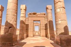 Temples Soudan de Naga photos libres de droits