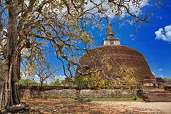 Temples of Sri Lanka Royalty Free Stock Photo