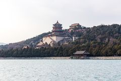 Temples at the Summer Palace royalty free stock photography