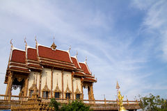 Temples Thaïlande Images libres de droits