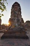 temples Thaïlande d'auytthaya photographie stock