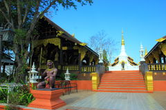 Temples of Thailand built with faith. Stock Photography