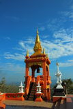 Temples of Thailand built with faith. Stock Image
