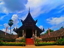 Temples in Thailand, Chiangmai Stock Photos