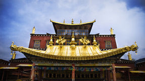 Temples in Tibet Stock Photos