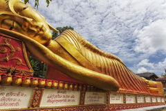 Temples on top of the mountain in Thailand Stock Photos