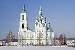 Temples of the Urals Stock Photo