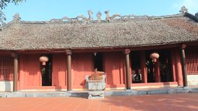 Temples in Vietnam stock video footage