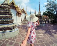Temples of Wat Pho Stock Photo