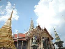 Templet är Thailand som mycket är beautyful Arkivfoton