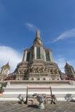 Templet av Dawn Wat Arun Royaltyfria Bilder