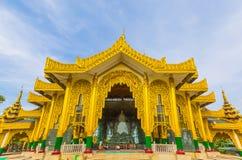 Templet av den Kyauktawgyi Buddha Royaltyfri Fotografi