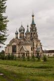 Templet av frälsaren Arkivbilder