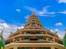Templet av gränsmärket, Chiang Rai, Thailand Royaltyfri Bild