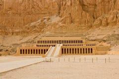 Templet av Hatshepsut nära Luxor i Egypten Arkivfoton
