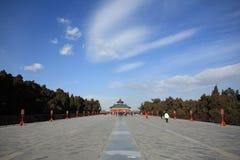 Templet av himmel Royaltyfri Fotografi