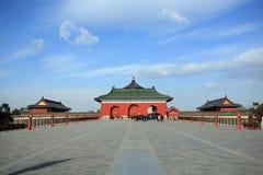 Templet av himmel Arkivbilder
