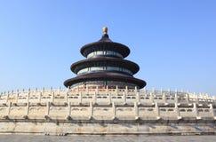 Templet av himmel i Peking arkivfoto