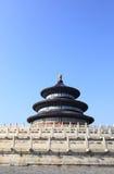 Templet av himmel i Peking arkivbilder