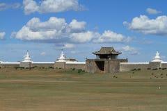 Templet av Karakorum Arkivbilder