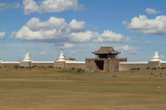 Templet av Karakorum Arkivbild