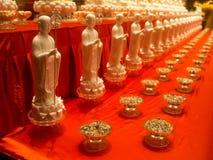 Templet för Buddhatandrelik, 12 September 2017, Singapore Arkivfoton