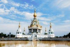 Templet för thien för den Wat läderremseden khonkaen in landskapet, Thailand Fotografering för Bildbyråer