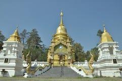 Templet i det norr thai Arkivbild
