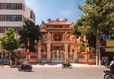 Templet i Nha Trang Arkivbild