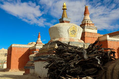Templet i Tibet Royaltyfri Foto