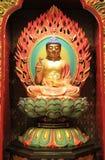 Templet och museet för Buddhatandrelik som baseras på skarp smakdynaen Royaltyfri Fotografi