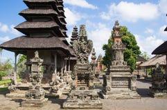 Templet strukturerar Taman Ayun Arkivbild