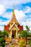 Templet Wat Chalong Arkivbilder