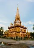 Templet Wat Chalong Royaltyfria Foton
