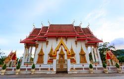 Templet Wat Chalong Fotografering för Bildbyråer