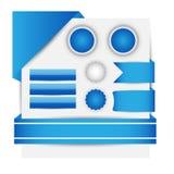 Templete do Web site Vecotor EPS10 Imagens de Stock