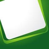 Templete verde del fondo stock de ilustración