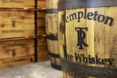 Templeton Rye Whiskey Royaltyfri Foto