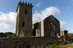 Templetown Church Royalty Free Stock Photography
