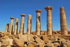 Templi di dei di Valle Fotografie Stock
