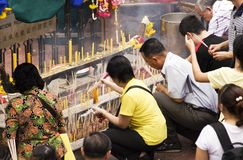 Templo 04 de Banguecoque Foto de Stock