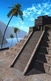 Templo 05 do Maya ilustração do vetor